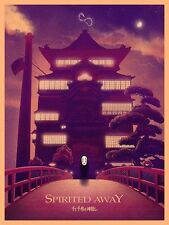 Marko Manev Spirited Away Ghibli Limited Edition Print Poster Art Mondo Totoro