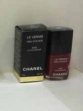 NEW ARRIVAL! CHANEL BEST-SELLING NAIL COLOUR POLISH LE VERNIS IN LOTUS ROUGE 455