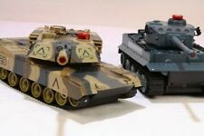Kids Remote Control R/C Infrared-M1A2 Battle Tank twin pack Scale1:24 Toy