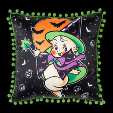 SOURPUSS CLOTHING KEWPIE WITCH CUSHION. GOTHIC HALLOWEEN PILLOW. HORROR. WICCA