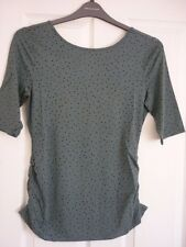 BODEN PRINTED BALLET BACK TOP HEATH SCATTERED SPOT. UK 12, EUR 38-40 US 8. BNIB
