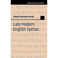 Late Modern English Syntax. Hardcover 9781107032798 Cond=LN:NSD SKU:3193836