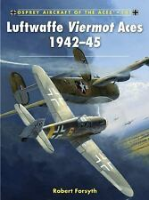Luftwaffe Viermot Aces 1942-45 (Aircraft of the Aces), Forsyth, Robert, New Book