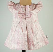 Pampolina Dress festive Celebration Wedding Tulle rosa Baby Kids Größe 56 Neu