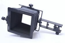 CAMBO ORIGINAL BELLOWS HOOD, SHADE, COMPENDIUM FOR SCX RAIL.