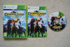 Champion Jockey G1 Jockey & Gallop Racer Xbox 360 -1st Class FREE UK POSTAGE
