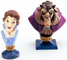 WDCC BEAUTY AND THE BEAST - BELLE & BEAST BUSTS