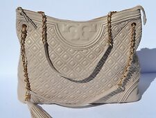 Tory Burch Fleming Leather Bedrock Leather Shoulder Bag $595+