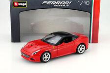 Ferrari California T Hardtop Baujahr 2014 rot / schwarz 1:18 Bburago