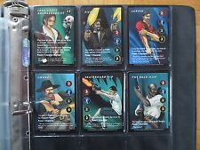 TOMB RAIDER CCG - ALL 50 Rare R Cards - 151-200 Lara Croft trading gun Big game
