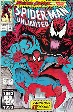 SPIDERMAN UNLIMITED 1...NM-...1993...Maximum Carnage Part 1!...Bargain!