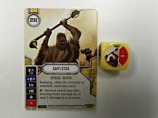 Star Wars Destiny Awakenings #25 Gaffi Stick w/ Dice