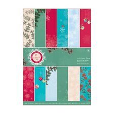 A4 PAPER PACK (FULL) - BELLISSIMA CHRISTMAS COLLECTION - DOCRAFTS