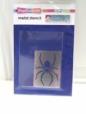 """Stampendous Dreamweaver Stencils """"Spider"""" Metal Stencil"""