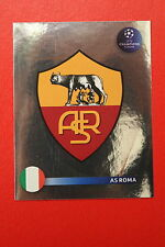 PANINI CHAMPIONS LEAGUE 2008/09 # 451 AS ROMA BADGE BLACK BACK MINT!