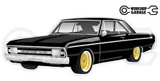 Chrysler Valiant VG Pacer Hemi 2Door - Black with Gold Rims