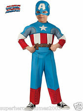 The Avengers Captain America Toddler Costume 2T - 4T Brand New 620018 Rubies