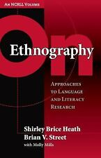 Language and Literacy NCRLL: On Ethnography : Approaches to Language and...