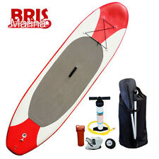 "New 3.05M Stand Up Paddleboard - 6"" Thick Inflatable SUP with Paddle Included"