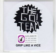 (EC390) The Go! Team, Grip Like A Vice - 2007 DJ CD