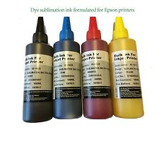 400ml DYE sublimation Ink for Epson refillable cartridges 126 127 200 252 220 79