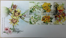 Malaysia FDC with stamps (07.03.2016) - Scented Flowers Series 2