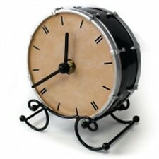 Mantle Clock Drum Music Themed Gift