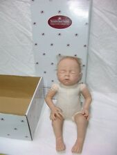 "Ashton Drake So Truly Real Denise Farmer Vinyl Lifelike Baby Doll 18"" with Box"