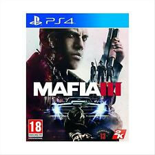 PS4 MAFIA III 3 + DLC FAMILY KICK-BACK NUOVO Multilingua Italiano Incluso
