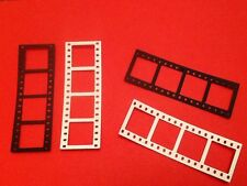 16 x Cinema Film Strip  die cuts. Ideal for toppers **FREE UK POSTAGE***