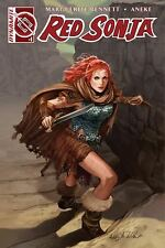 RED SONJA #1 AOD COLLECTABLES ASHLEY WITTER EXCLUSIVE 1 OF 1000 COLOR COVER 2016