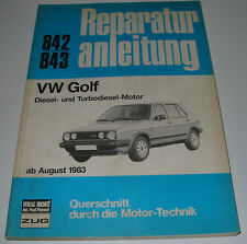 Reparaturanleitung VW Golf 2 II Typ 19E Diesel + Turbo Diesel ab August 1983
