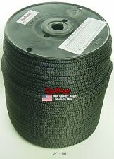 """500' 1/4"""" 100% Dacron Polyester Antenna Support Rope, Doomsday Prepper, Dipole"""