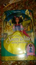 Snow White Walt Disney Mattel 1992 Snow White and the Seven Dwarfs Barbie