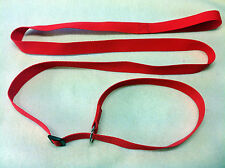 2 x Basic Strong Dog Slip Leads 2 meters long various colour combinations