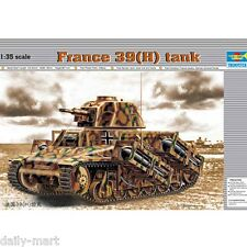 Trumpeter 1/35 00352 France 39(H) TANK SA 38 37mm gun Model Kit
