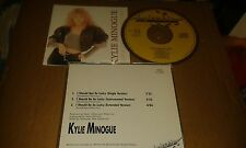 Kylie  'I Should Be So Lucky'   MEGA RARE 1987 4 TRK DUTCH LTD CD Single
