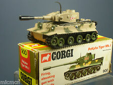 CORGI TOYS MODEL  No.900 PzKpfw TIGER Mk1 TANK   VN  MIB