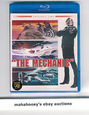 The Mechanic (Charles Bronson) Twilight Time Ltd Ed 3,000 SOLD OUT OOP Blu-Ray