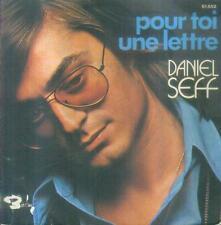 """7"""" Daniel seff/pour toi une lettre (France)"""