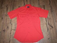 Men's Wrangler Western Shirt with Pearl Snaps - M