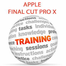 Apple Final Cut Pro X 10.1.1 - formazione VIDEO TUTORIAL DVD
