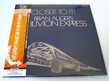 """Brian Auger`s Oblivion Express """"Close To It""""  Japan mini LP SHM CD"""