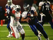 Shaun Ellis NEW YORK JETS DE Pro Bowl AUTO Color 8X10 PHOTO  NFL