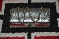 Ralph Lauren Collection Purple Label Python Skin Clutch Wallet