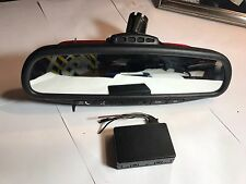 2004-07 DODGE CHRYSLER 300 TOWN COUNTRY REAR VIEW AUTO DIM  U CONNECT MIRROR OEM