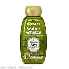 (16,80€/L) 250ml Garnier Wahre Schätze Mythische Olive Shampoo trockenes Haar