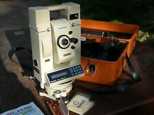 Pentax EDM THEODOLITE LEVEL PX-06D W/ Case & Manual Surveying Equipment