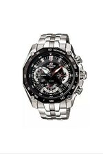 New Casio Edifice EF-550D-1AV Men's Casual Watch Chronograph Date Display Quartz