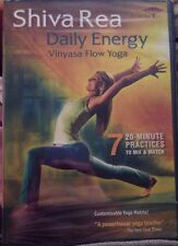 Shiv Re Daily Energy Vinyasa Flow Energy Workout Fitness Exercise DVD
